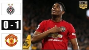 Partizan vs Manchester United 0 - 1 | UEL All Goals & Highlights | 24-10-2019